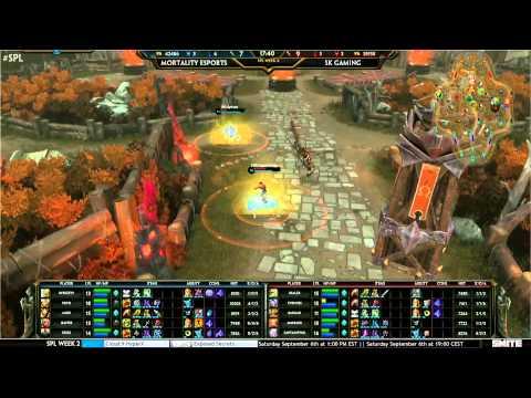 Mortality eSports vs SK Gaming: SPL EU Week 2