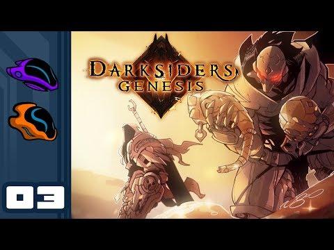 Let's Play Darksiders Genesis [Co-Op] - PC Gameplay Part 3 - Disregard Boss, Acquire Health!