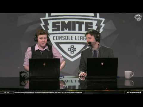 SMITE Console League Fall Split Week 5 Day 2 - CycloneGG vs. Retribution Game 2