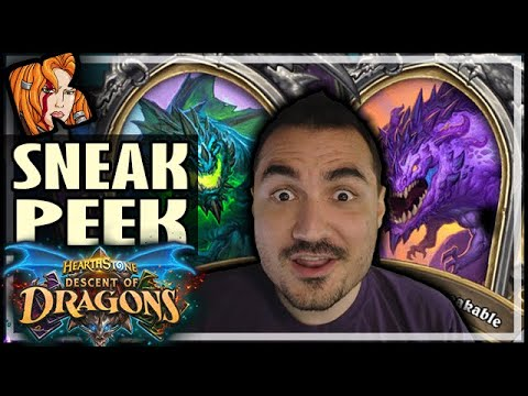 DESCENT OF DRAGONS EARLY SNEAK PEEK! - Hearthstone Descent of Dragons