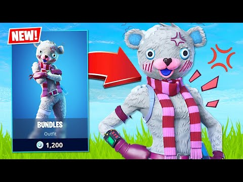 New Christmas Bear Skin! (Fortnite Battle Royale)