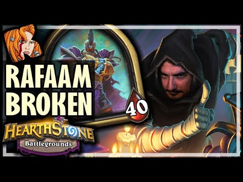 RAFAAM IS BROKEN! - Hearthstone Battlegrounds