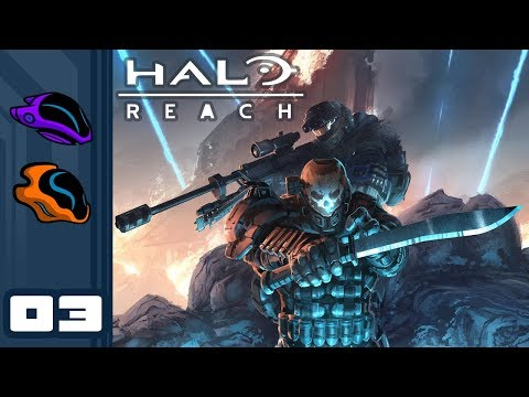 Let's Play Halo Reach [Co-Op Campaign] - PC Gameplay Part 3 - Nightfall