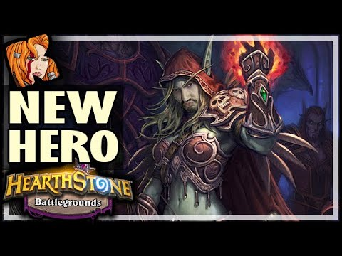SYLVANAS HITS THE BATTLEGROUNDS! - Hearthstone Battlegrounds