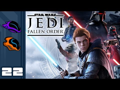 Let's Play Star Wars Jedi: Fallen Order - PC Gameplay Part 22 - The Droids Are Using Wallhax!?