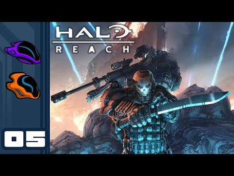 Let's Play Halo Reach [Co-Op Campaign] - PC Gameplay Part 5 - Long Night Of Solace