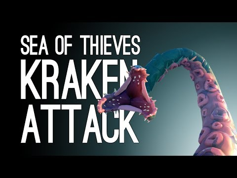 Sea of Thieves Seabound Soul Gameplay: KRAKEN ATTACK! (Ep. 2/2)