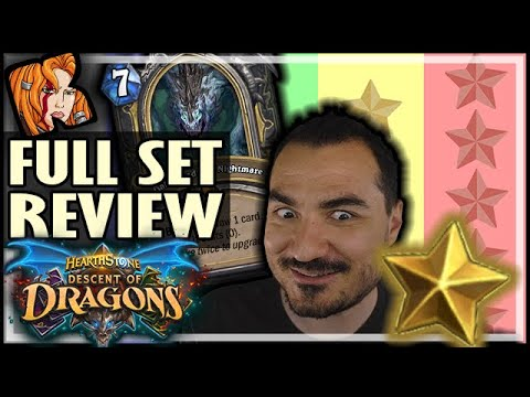 FULL SET STAR REVIEW - Hearthstone Descent of Dragons