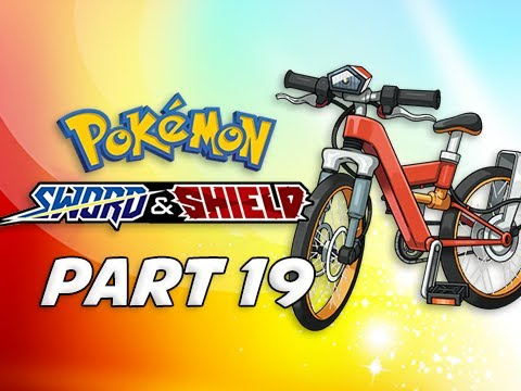 WATER BIKE - POKEMON SWORD & SHIELD Walkthrough Part 18  (Nintendo Switch)