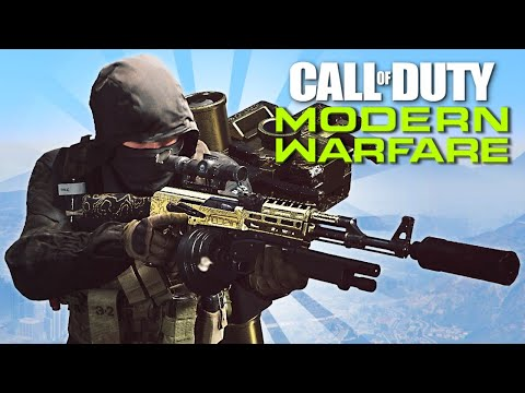 Getting GOLD on ALL WEAPONS!! (Call of Duty: Modern Warfare)