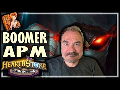 BOOMER APM? PLAY RAFAAM! - Hearthstone Battlegrounds