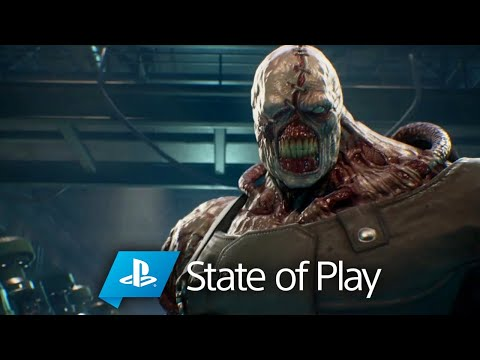 STATE OF PLAY REACTION - Resident Evil 3 Remake & Ghost of Tsushima ???