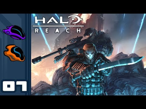 Let's Play Halo Reach [Co-Op Campaign] - PC Gameplay Part 7 - New Alexandria