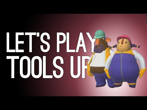 Tools Up! Gameplay: Overcooked but for Home Improvement (Let's Play Co-op Tools Up! on Xbox One)