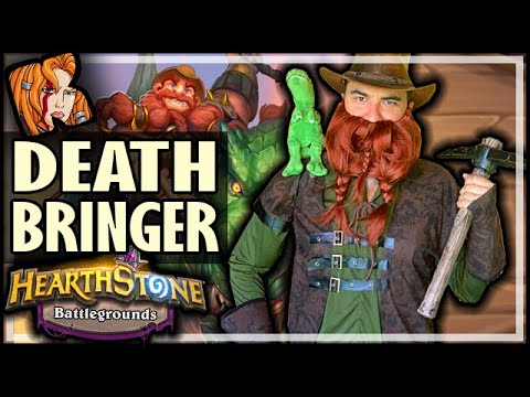 DEATH BRINGER BRANN - Hearthstone Battlegrounds