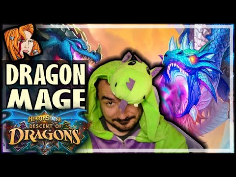 100% WINRATE DRAGON MAGE - Hearthstone Descent of Dragons