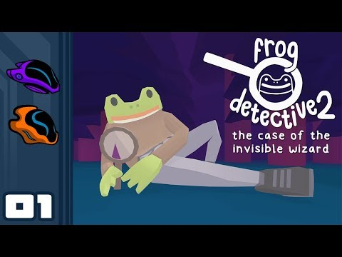 Let's Play Frog Detective 2: The Case of the Invisible Wizard - PC Gameplay Part 1 - Perfectly Dumb