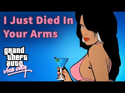 🎧 GTA Vice City Radio Songs — I Just Died In Your Arms | Cutting Crew