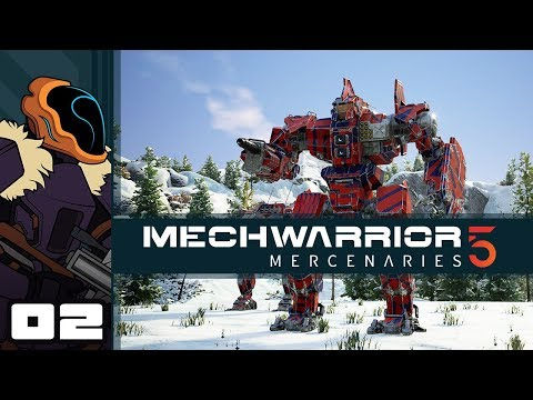 Let's Play MechWarrior 5: Mercenaries - PC Gameplay Part 2 - Char-Broiled Centurion