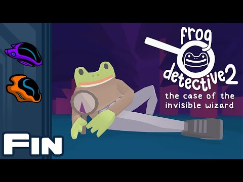 Let's Play Frog Detective 2: The Case of the Invisible Wizard - Part 3 - Finale - Crime Isn't Real