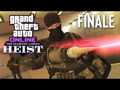 New DIAMOND CASINO HEIST Finale! (GTA 5 Online Heists DLC)
