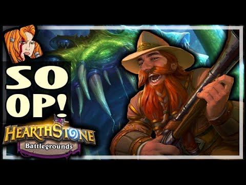 HOW CAN ONE CARD BE SO OP?! - Hearthstone Battlegrounds