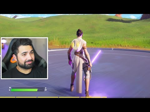 The New LIGHTSABERS in Fortnite! (Star Wars Event)