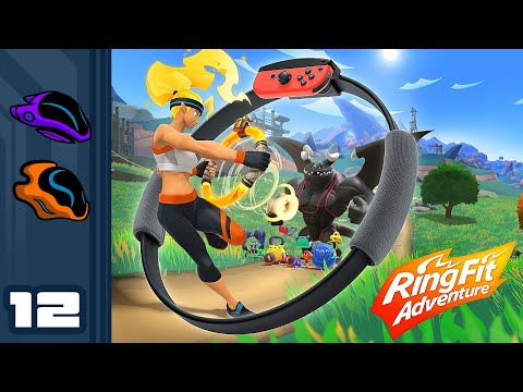 Let's Play Ring Fit Adventure - Switch Gameplay Part 12 - Leg Envy