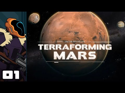 Let's Play Terraforming Mars - PC Gameplay Part 1 - A Near-Perfect Digital Boardgame!