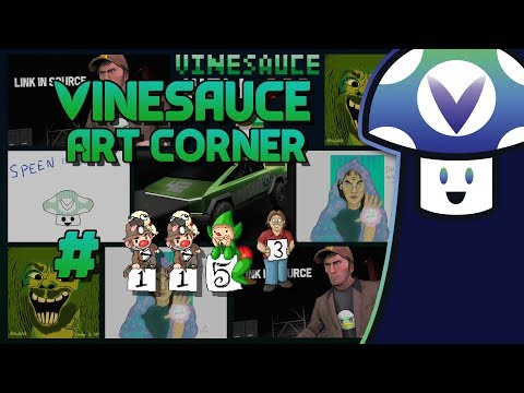 [Vinebooru] Vinny - Vinesauce Art Corner #1153