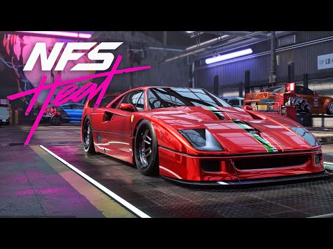 SO FAST !!! Ferrari F40 Build - NEED FOR SPEED HEAT Gameplay Walkthrough Part 29