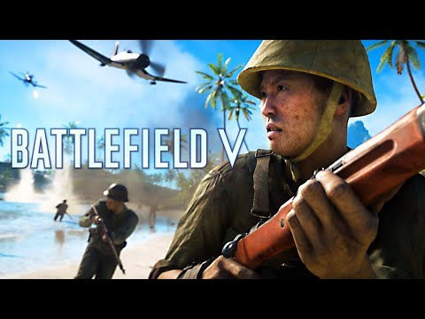 New Battlefield 5 Pacific DLC Update Gameplay! (New Weapons, Maps & Vehicles)