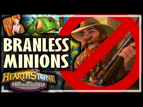 BRANNLESS TINY MINIONS 😢  - Hearthstone Battlegrounds