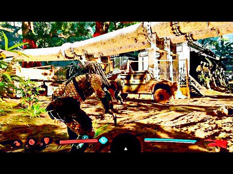 PREDATOR: HUNTING GROUNDS (2020) Gameplay Demo