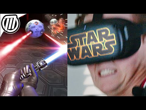Star Wars VR: Becoming a Jedi | Vader Immortal Ep 1 Gameplay