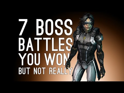 7 Boss Battles You Won But Not Really