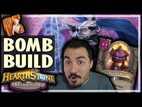 BOMB BUILD IS ABSURD! - Hearthstone Battlegrounds
