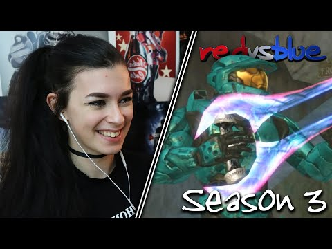 TRYING TO FIX THE PAST | Red vs. Blue Reaction | Season 3 | EP 8-12