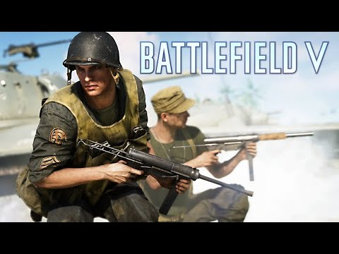 Battlefield 5 Custom Games & Wake Island! (New Weapons, Maps & Vehicles)