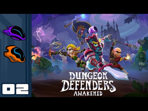 Let's Play Dungeon Defenders: Awakened [Closed Beta] - PC Gameplay Part 2 - Hands-Off Defense