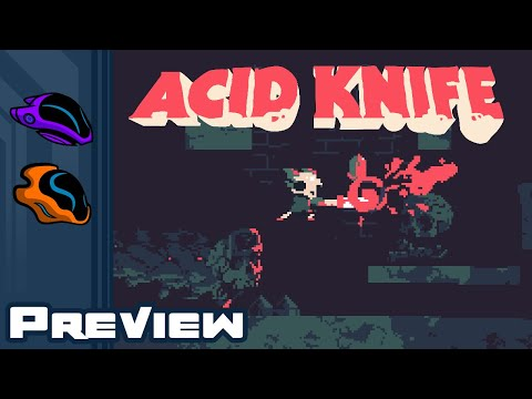 Acid Knife Preview - Stab Trippy Horror Monsters In The Gooey Bits!