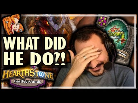 WHAT DID THIS NEFARIAN DO?! - Hearthstone Battlegrounds