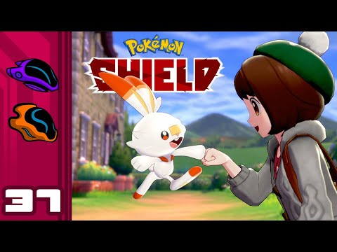 Let's Play Pokemon Shield - Switch Gameplay Part 37 - Brood Lord