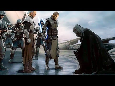 Darth Vader Gets OWNED & Bow Down Scene - Star Wars The Force Unleashed 2