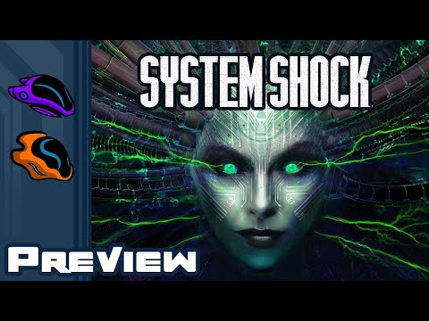 System Shock Remake Preview - Terrified Man Bludgeons Naked Mutants & Borg For An Hour