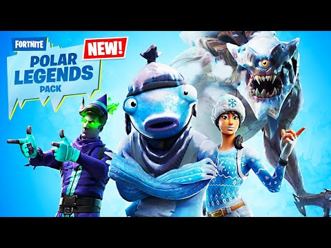 New POLAR LEGENDS Pack! (Fortnite Battle Royale)