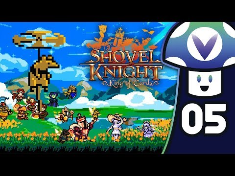 [Vinesauce] Vinny - Shovel Knight: King of Cards (PART 5)