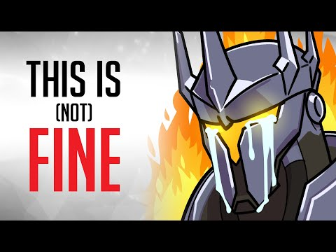 What it's ACTUALLY Like to Play Reinhardt in Overwatch