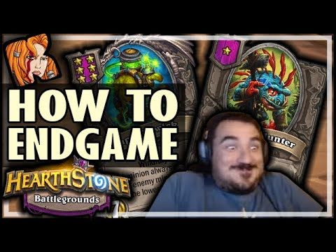 ENDGAME SPECIALIST! - Hearthstone Battlegrounds