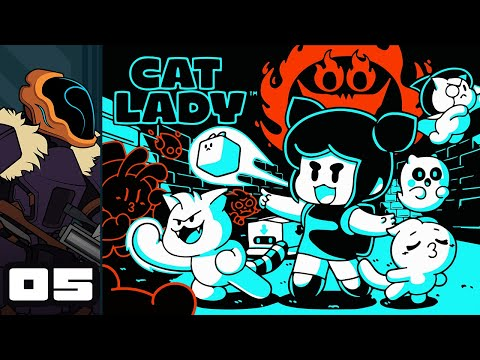 Let's Play Cat Lady [Early Access] - PC Gameplay Part 5 - Mr Bones Wild Ride